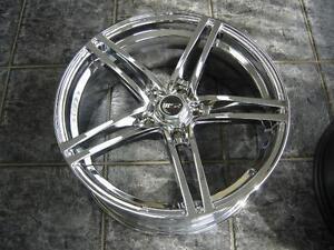 """Kit roues de mag avec pneus neufs 18"""" #M20"""