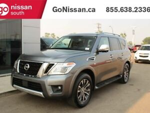 2018 Nissan Armada SL 4dr, 8 pass, LEATHER, NAVIGATION, SUNROOF