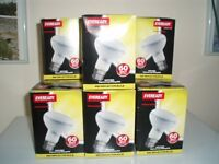 10 Eveready 60Watt R80 Reflector Bulbs