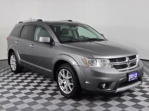 2012 Dodge Journey R/T w/LEATHER, MOONROOF, AWD, NEW BRAKES