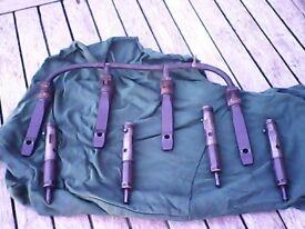 vauxhall 2lt dti diesel fuel injectors with return pipe
