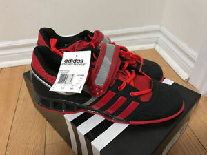 Adidas AdiPower Weightlifting shoe size 9 Red/Black