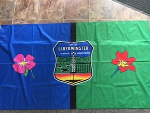 City of Lloydminster Flag 6x3