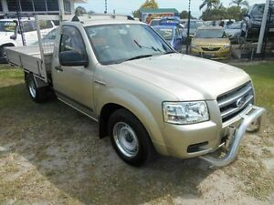 2008 Ford Ranger PJ XL Gold 5 Speed Manual Utility Kippa-ring Redcliffe Area Preview