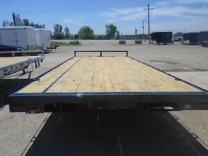 5 TON DECK OVER EQUIPMENT TRAILER - SALE PRICED, 102''X18' LONG London Ontario image 3