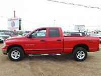 2005 Dodge Ram 1500 4WD QC ONLY 140,000 KM WEEKEND SPECIAL !!!!