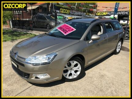 2012 Citroen C5 X7 MY12 Seduction 2.0 HDI Tourer 6 Speed Automatic Wagon Homebush Strathfield Area Preview