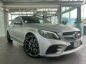 2019 Mercedes-Benz C-Class W205 809MY C300 9G-Tronic Silver 9 Speed Sports Automatic Sedan North Hobart Hobart City Preview