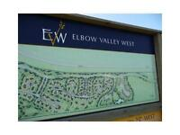 Lot for your Dream home in Elbow Valley West! (252 October Gold)