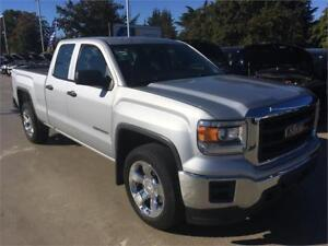 "2015 GMC Sierra 1500 4x4 double cab 20"" wheels"
