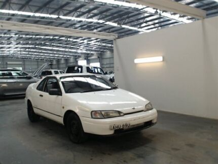 1992 Toyota Paseo White 5 Speed Manual Coupe