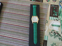 Watches Croton Individually Boxed Set of 2 Leather Strap Watches