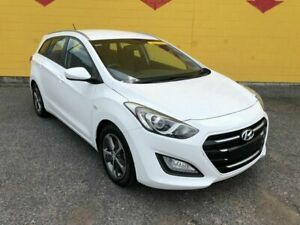2015 Hyundai i30 GD Active Tourer White 6 Speed Sports Automatic Wagon Winnellie Darwin City Preview