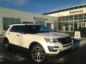 2016 Ford Explorer Sport, Leather, Heated/Ventilated Seats, Moon