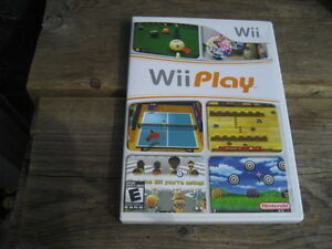 nintendo wii game: wii play. E. $10