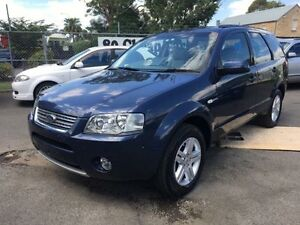 2008 Ford Territory SY MY07 Upgrade Ghia (4x4) Blue 6 Speed Auto Seq Sportshift Wagon Campbelltown Campbelltown Area Preview