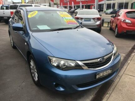 2009 Subaru Impreza G3 MY10 R AWD Blue 4 Speed Sports Automatic Sedan