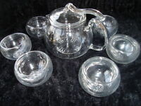 Small Teapot and 6 Small Cups