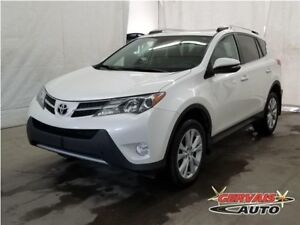 Toyota RAV4 Limited AWD Cuir Toit Ouvrant MAGS 2013