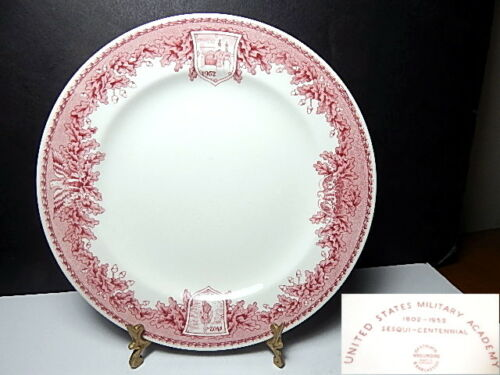 Wedgwood US MILITARY ACADEMY West Point Luncheon Plate(s) EXC !!