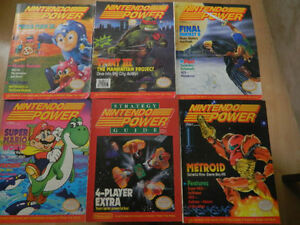 Wanted: OVER 300 Nintendo Power and Strategy guides/Old Skool Ga