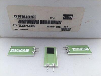 10 Pcs Ta205pa300rj Ohmite 5 Watt 300 Ohm 5 High Power Thick Film Resistor