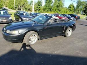 2001 Ford Mustang convertible 5spd safetied