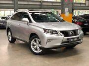 2013 Lexus RX350 GGL15R Luxury Wagon 5dr Spts Auto 6sp, 4x4 3.5i [Sep] Silver Sports Automatic Wagon Port Melbourne Port Phillip Preview