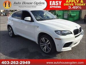 2011 BMW X6 M NAVI BCAM ROOF AWD 555HP!!!
