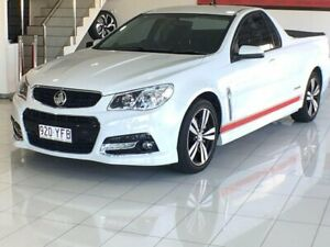 2015 Holden Ute VF MY15 SS Ute Storm White 6 Speed Sports Automatic Utility Southport Gold Coast City Preview