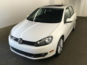 2013 Volkswagen Golf 2.5L 4-Door HIGHLINE 5 SPD.