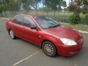 2005 Mitsubishi Lancer CH MY05 ES Red 5 Speed Manual Sedan Clontarf Redcliffe Area Preview