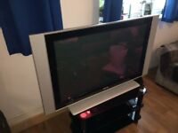 "Philips 42"" LCD TV 1080p with TV stand"