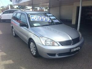 2008 Mitsubishi Lancer CH MY07 ES Silver 4 Speed Auto Sports Mode Wagon Broadmeadow Newcastle Area Preview