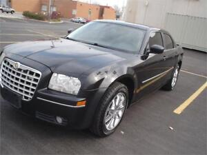 2009 Chrysler 300 Touring,AWD,BLK/BLK EX POLICE,one owner