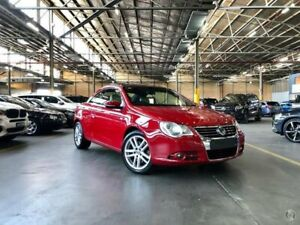 2010 Volkswagen EOS 1F MY11 155TSI DSG Red 6 Speed Sports Automatic Dual Clutch Convertible Port Melbourne Port Phillip Preview