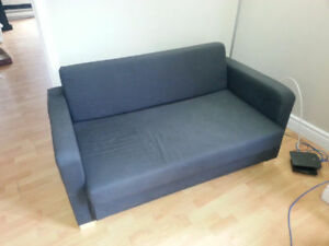 IKEA Solsta Navy Loveseat  /Sofa Bed