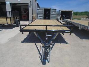 5 TON DECK OVER EQUIPMENT TRAILER - SALE PRICED, 102''X18' LONG London Ontario image 4