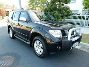 2007 Nissan Pathfinder R51 MY07 ST-L Black 5 Speed Sports Automatic Wagon Redcliffe Redcliffe Area Preview