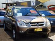 2002 Honda CR-V RD MY2002 Sport 4WD Gold 4 Speed Automatic Wagon Minchinbury Blacktown Area Preview