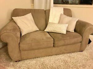 Perfect Condition Microsuede Couch!