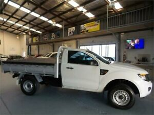 2014 Ford Ranger PX XL 3.2 (4x4) Cool White 6 Speed Automatic Cab Chassis Seven Hills Blacktown Area Preview