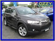 2012 Holden Captiva CG Series II 7 CX (4x4) Grey 6 Speed Automatic Wagon Minto Campbelltown Area Preview