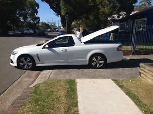 2013 Holden Ute VF SV6 White 6 Speed Automatic Utility Sutherland Sutherland Area Preview