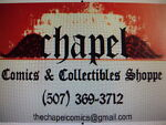 The Chapel Comics and Collectibles