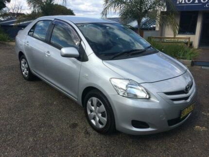 2006 Toyota Yaris NCP93R YRS Silver 4 Speed Automatic Sedan Faulconbridge Blue Mountains Preview