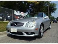 2003 MERCEDES BENZ CLK500 AMG Package**AUTO**ONLY 124,000KM**