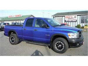 2008 Dodge Ram 1500 ST Manual Transmission 4X4
