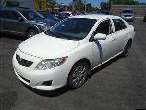 2010 TOYOTA COROLLA, 123000KM, AIR CLIMATISE $5995