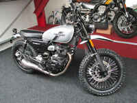 Hanway Scrambler HS 125 finance available only £99 deposit subject to status